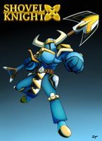 Shovel Knight X by ZMAnonymous