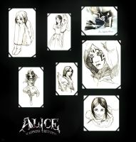 Alice sketches by Du-u-unkey
