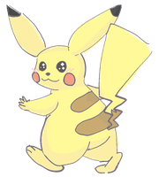 Pikachu (Male) by Ikpoke
