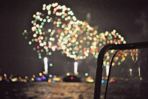 Bokeh Fireworks! by therainontheirparade