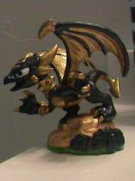 Skylanders-Custom Legendary Cynder (Series 1) by KrazyKari