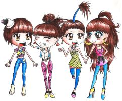 2NE1 by onebetweenus