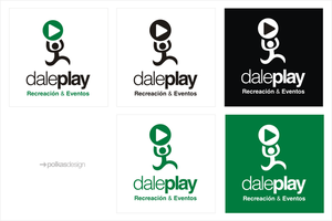 DalePlay Logo by Polkasdesign