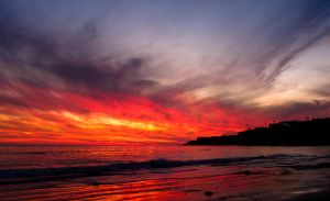 Abalone Cove Sunset by doninator