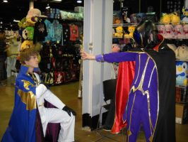 ACen 2010: Suzaku and Lelouch by WinterSnowHana