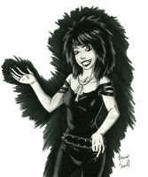Death (Sandman) by ibroussardart