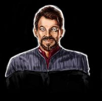 William T. Riker by cathionelle