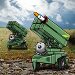 Card Art Submission for - Missile Battery by MrKorra