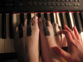 Play on my piano keys by morningfeather