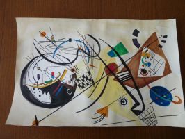 In hommage to Vassily Kandinsky by Adutelluma