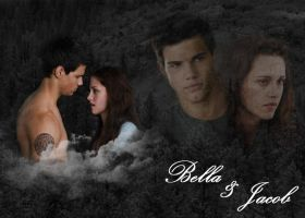 Bella-Jacob Wallpaper by Mistify24