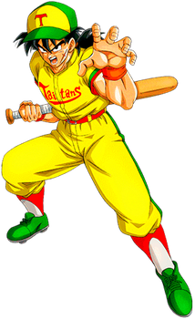 Yamcha Baseball Player by alexiscabo1