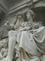 Zeus and Athena @Vienna by altheriol
