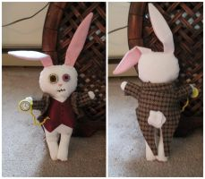 Creepy Cute White Rabbit by grg-costuming