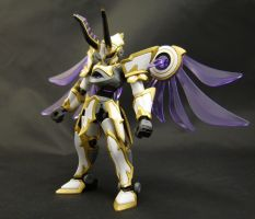 LBX Lucifer Front by AlmightyElemento