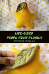 SALE | Life Size Paopu Plushie with Posable Leaf by Sir-Herp