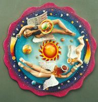 Playing with Planets by jessica-romero