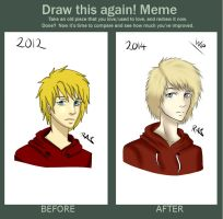 Draw This Again! Meme 1# by Ita-Freak