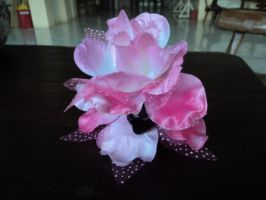 Flower Hair Clip by Project-GenEx