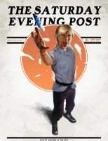 Val's Edition of the Saturday Evening Post by TheTimePolice