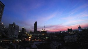 Evening in Bangkok by Anomonny