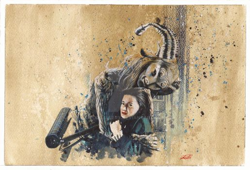 Pan's Labyrinth Sketch Paint by RodGallery