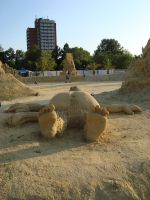 Sand art in burgas 22 by tonev
