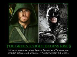 The Green Knight Begins Rises by MexPirateRed
