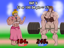 Super Smash Growth Drive - Day 6 by DepravedDefense