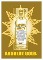 Absolut Gold by hippiedesigner