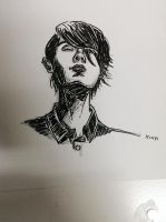 Sara Quin sketch by doppelganger47
