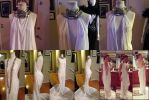 Making of White Lady - Cailleach Dress by JessicaDru