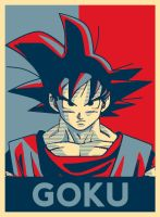 Poster GOKU - HOPE by hose1985