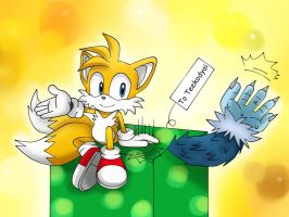 Tails's gift by Unichrome-uni