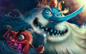 Ice king and Ricardio by Keops7
