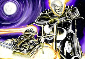 Ghost Rider by Bonorye