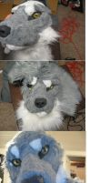 Process of Lucious Head by TieWolf