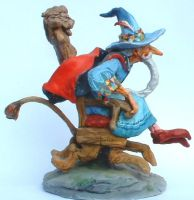 Wizard on Runaway Chair model by JohnPatience