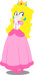 Princess Peach - in Equestria Girls style by Canterlotian