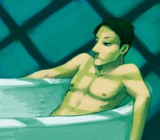 Jack in a Tub for UnknownCake by candycanesmoke