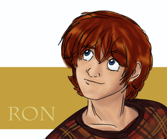 Ron Weasley by MarianaIsabel
