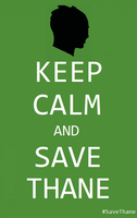 Keep Calm and Save Thane 2 Black Bust by mythlover20