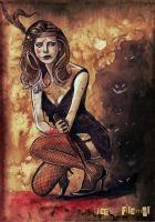 BUFFY, the vintage slayer by aquiles-soir