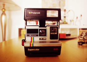 Polaroid SuperColor 635 by badendesing