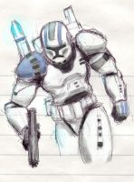 More SW Commando coloured by ShengArt
