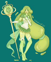 Sailor Slime Princess by T-Recksie