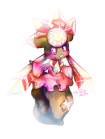 Shiny Diancie by Hedgebutts