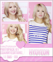 Hyoyeon (SNSD) - PHOTOPACK#01 by JeffvinyTwilight