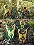 Loki inspired jewellery by ChaosNDisaster