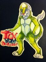 Trex badge commission by nightspiritwing